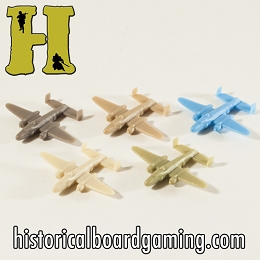 'Battle Pieces'' - Allies - B-25 Medium Bomber (x5)